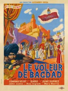 Le voleur de bagdad - affiche 01