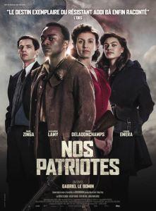 Nos patriotes - affiche 01