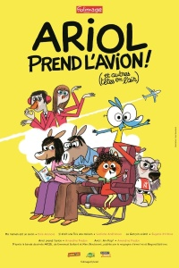 ariol prend l'avion - affiche 01