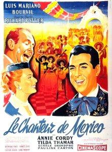le chanteur de mexico - affiche 01
