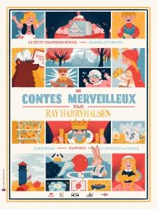 les contes merveilleux de ray harryhausen - affiche 01