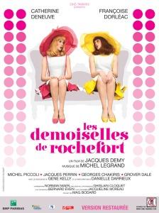 les demoiselles de rochefort - affiche 01