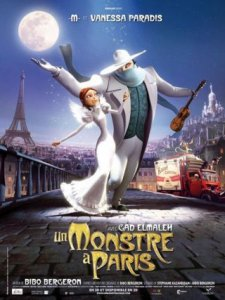 un monstre à paris - affiche 01