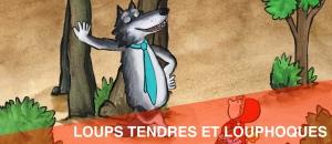 Bandeau Loups tendres...